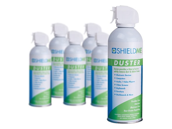 shieldme compressed air duster packs. Black Bedroom Furniture Sets. Home Design Ideas