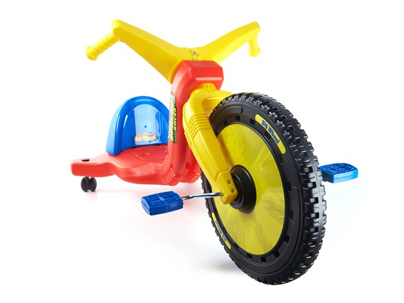 Big Wheel Toys For Toddlers : Big wheel quot spin out racer with caster wheels kids toys