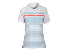 Cliff Short Sleeve Polo - Aurora Blue