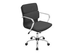 Lumisource Bachelor Office Chair- Black