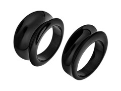 Set of 2 Black Rings