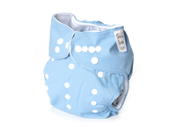 Adjustable Cloth Diaper - Blue