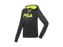 Fila Women's Fleece Hoody, Black (XS)