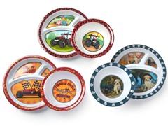 6-Piece Plate/Bowl Set - Car