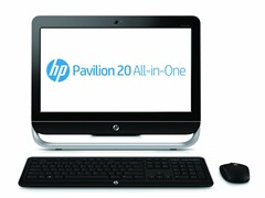 "HP Pavilion 20"" All-in-One Desktop"