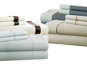 400TC 100% Cotton Sheet Sets - 4 Styles