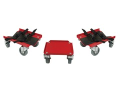 Pro Series Steel V-Slide Snowmobile Dolly System