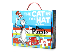The Cat in The Hat 48-Piece Floor Puzzle