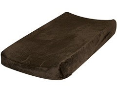 Minky Changing Pad Cover - Chocolate