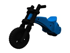 Blue Original YBike Balance Bike