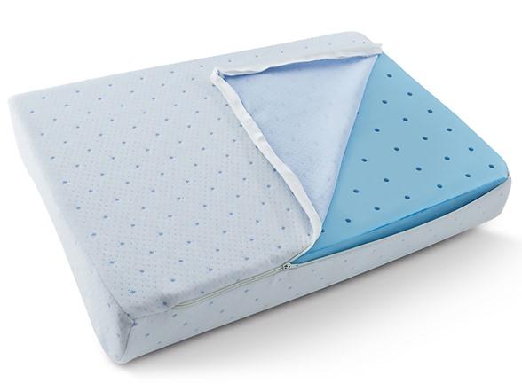 2pk Arctic Sleep By Pure Rest Foam Contour Pillow
