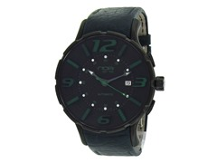 16'75 Blue Leather Watch