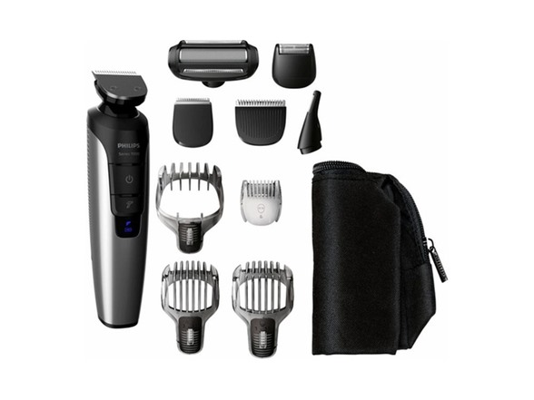Philips Norelco Series 7500 Multigroom Trimmer with Attachments
