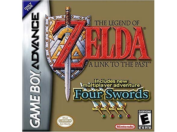 Image of The Legend Of Zelda: A Link To The Past Game Boy Advance