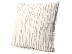 Ruffles 20x20 Pillow-Grey Feather
