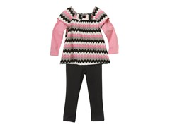 Tunic & Leggings Set - ZigZag (12M-3T)