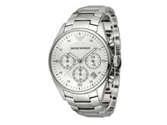 Armani Men's Chronograph Steel Band