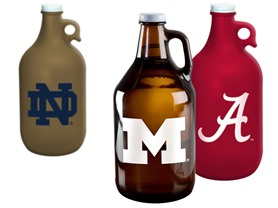 NCAA 64 oz. Growlers