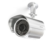 Power Over Ethernet Outdoor IP Camera