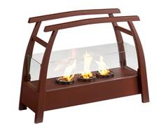 SEI Kanto Portable Indoor/Outdoor Fireplace