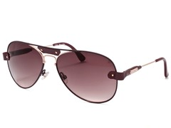 Chloe CL2204 Burgandy-Gold/Red-Brown