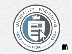 University Wikipedius Crew Sweatshirt