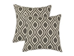 Nichole Grey Lakin 17x17 Pillows - Set of 2