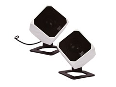 Cubik HD Digital Speakers - White