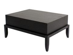 Heritage Espresso Rectangle Coffee Table