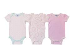 Pink Sweet Butterfly Bodysuit 3Pk (0-9M)