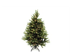"Greensboro Full Tree 4'5"" Prelit Clear"