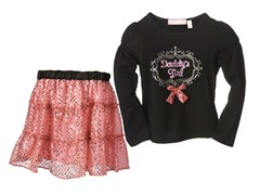 Top & Skirt Set - Daddy's Girl (4-6X)