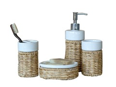 4-Piece Counter Accessory Set - Natural