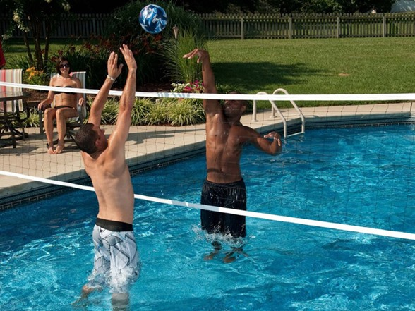 Huffy Above Ground 30\' Pool Volleyball