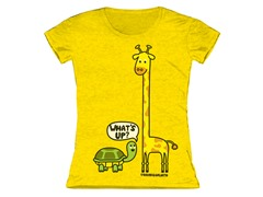 Girls Toddler Tee - What's Up (2T-5/6T)