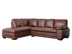 Wynner Leather Sectional