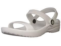 3-Strap Sandal - White