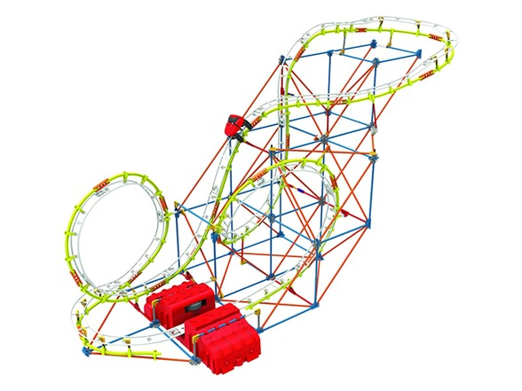 K'NEX Supernova Blast Coaster Building Set - Kids & Toys