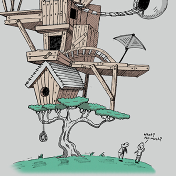 Treehouse Overload