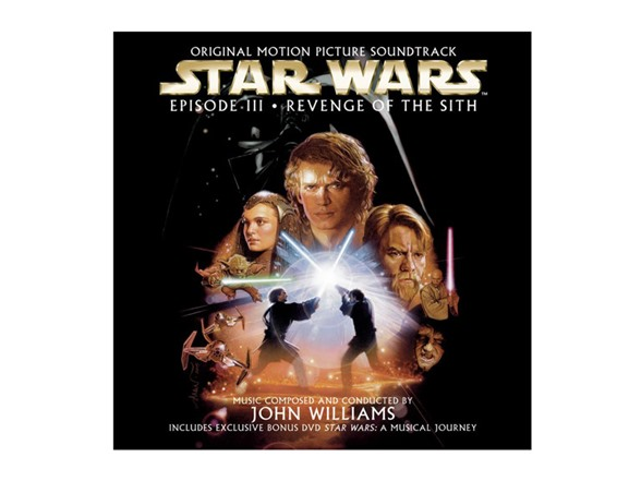 Episiode Iii Revenge Of The Sith Ost Cd