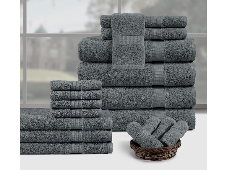 18-Piece Towel Set, Color of Choice