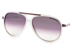 Emporio Armani 9751S White/Dark Purple