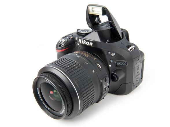 Nikon D5200 Dslr Camera W 18 55mm Lens