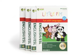 English/ESL for Kids: Box Set Volume II