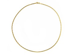 18kt Gold Plated SS Italian Valentino Design Anklet