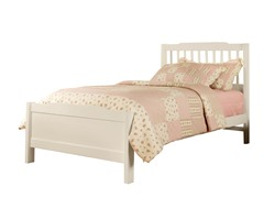 Captain Twin Bed Soft White