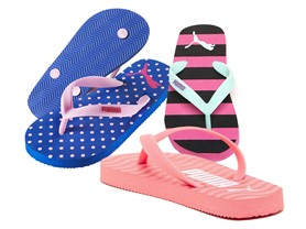 PUMA Girls Flip Flops (11-4), 3 Colors