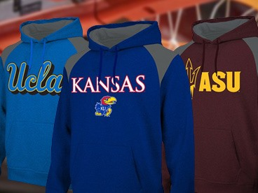 NCAA Polyfleece Hoodies