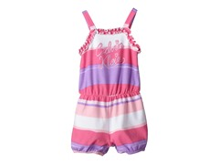 Pink Stripes Romper (2T-4T)