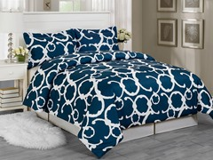 Rhys Duvet Set-Indigo-2 Sizes